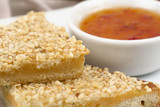 Hatosi - Chinese Sesame Prawn Toast & Sweet Chili Sauce