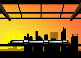 scene of cityscape