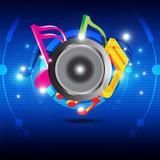 Music festival design poster