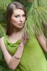 grüne woll-mode
