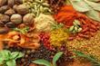 Obrazy drukowane na płótnie, fototapety, zdjęcia, fotoobrazy cyfrowe : Spices and herbs