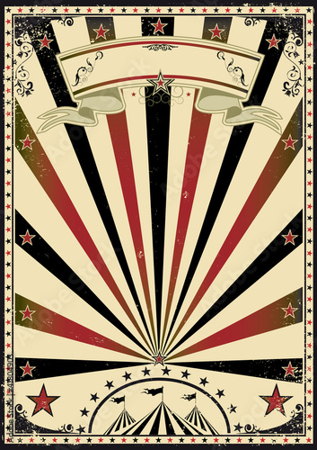 Circus vintage sunbeams