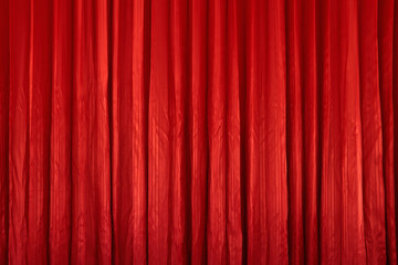 Red curtain textures