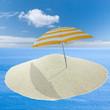 concept vacances au soleil