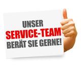 Unser Service-Team berät Sie gerne!