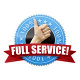 Full Service! Button, Icon