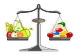 Fresh fruit versus pile tablets poster