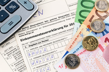 Österreichische Einkommensteuer Erklärung