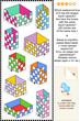 Liquid capacity measuring math puzzle or problem