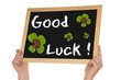 Blackboard Good Luck