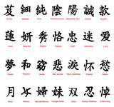 Fototapeta azja - azjatycki - Znak / Symbol