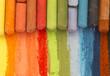 Leinwandbild Motiv dried pastels