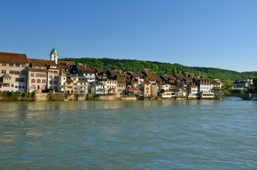 River Houses in Rheinfelden, Switzerland