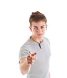 Man pointing at you.