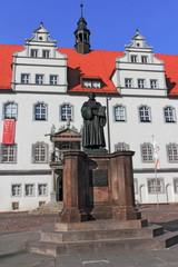 Luther vor Rathaus Wittenberg
