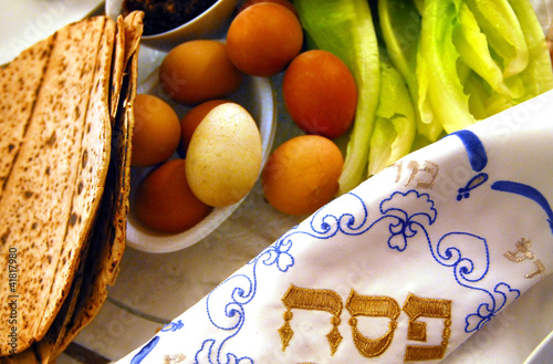 Passover Seder Dinner Celebrations