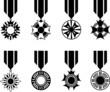 Black War Medals Series
