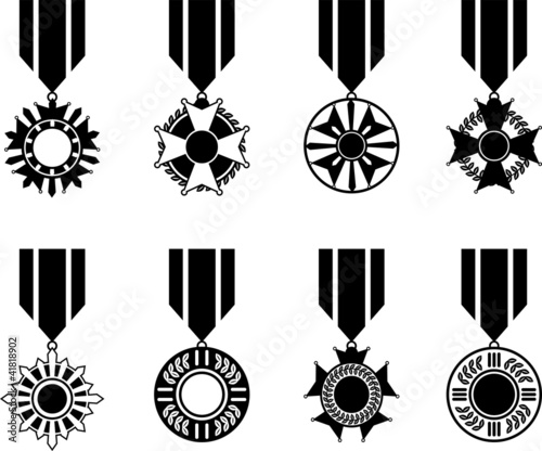 Black War Medals Series