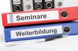 Aktenordner Seminare und Weiterbildung