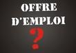 tableau offre d'emploi
