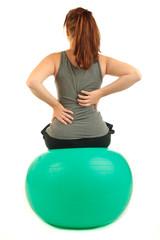 Rückenschmerzen mit Gymball 5.12
