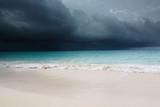 Fototapeta Karaiby - chmury - Plaża