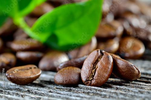 Duftende Arabica-Kaffebohnen
