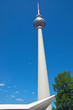 The Television tower at Alexanderplatz in Berlin