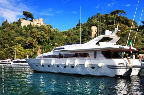 luxury yachts in italian riviera Portofino