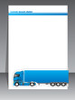 Cool brochure design for transportation companies