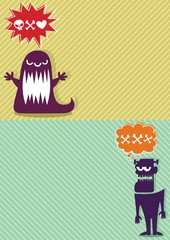 Monster Backgrounds 3