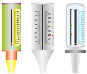 Peak flow meter used by Asthma patients.