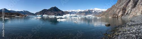 Foto Spatwand Gletsjers Columbia Glacier