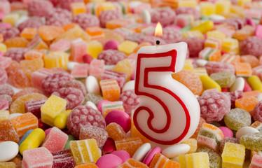 Fünfter Geburtstag