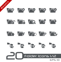 Folder Icons - Set 1 of 2 // Basics