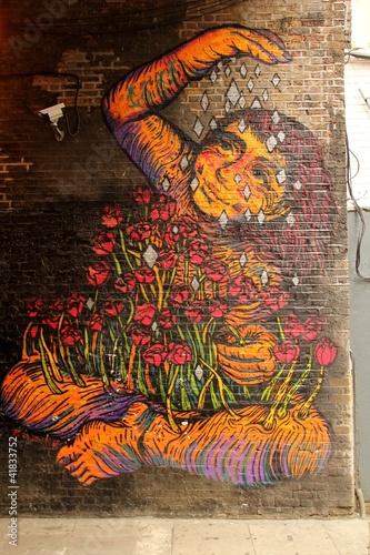 Fototapeten,fassade,graffiti,mosaik,wand