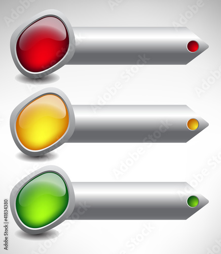 buttons arrows
