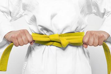 gelber Gürtel