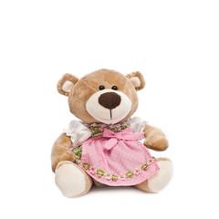 teddybär mit dirndlkleid