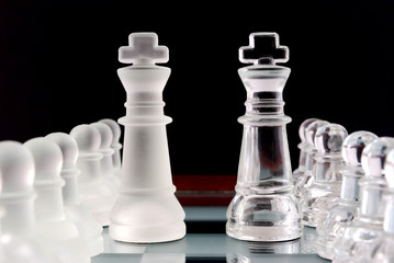 Chess. Pawns and kings.