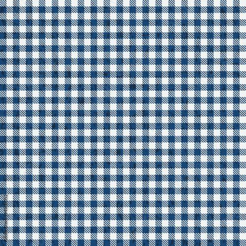 Grunge Karo Tischdecken Muster BLAU - endlos