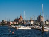 Blick auf Rostock.