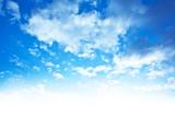 Fototapeta tło - niebieski - Dzień