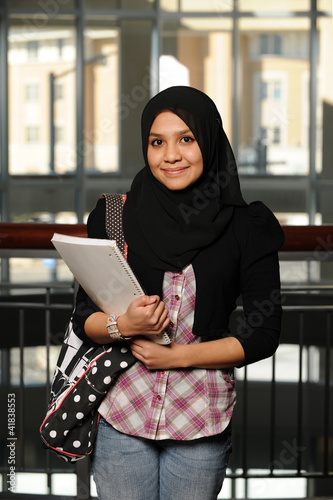 Young Arab Student