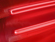 abstract red bulb lamp, power details