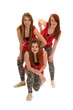 Teenage Girls Hip Hop Dance Trio