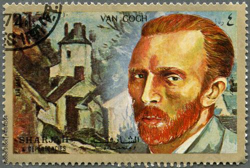 SHARJAH & DEPENDENCIES - 1972: shows Vincent Willem van Gogh