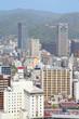 Kobe, Japan - city aerial view