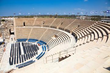 Caesarea Theatre. Israel.