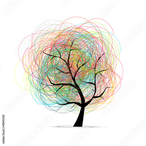 Abstract tree for your design © Kudryashka